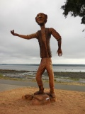Willow Point - Man carving