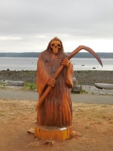 Willow Point - Reeper carving