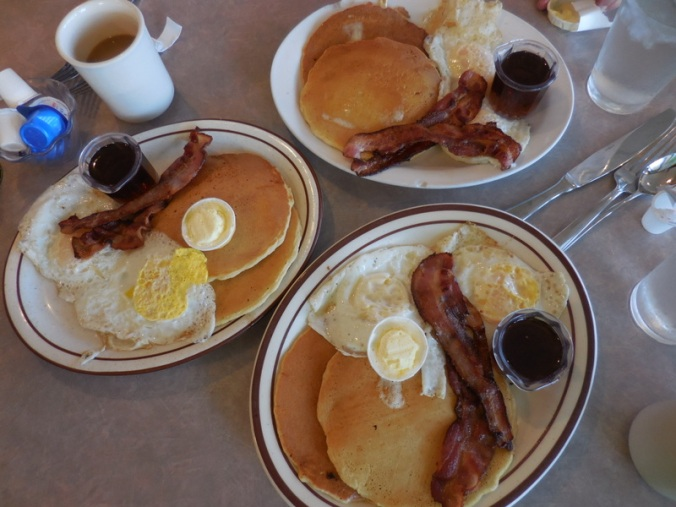 3 pancake specials