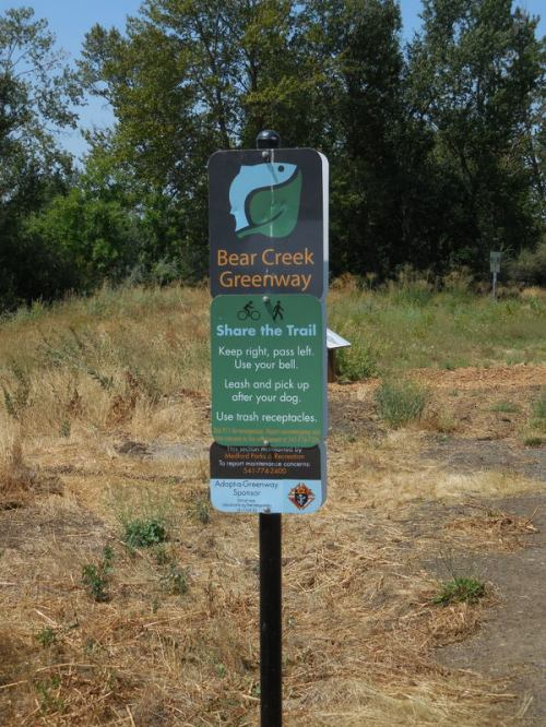Bear Creek cycle path