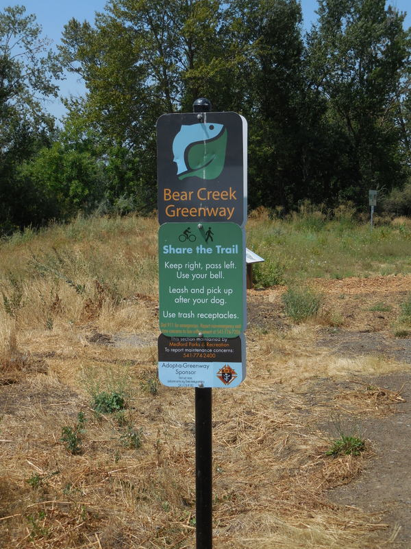 Bear Creek cycle path