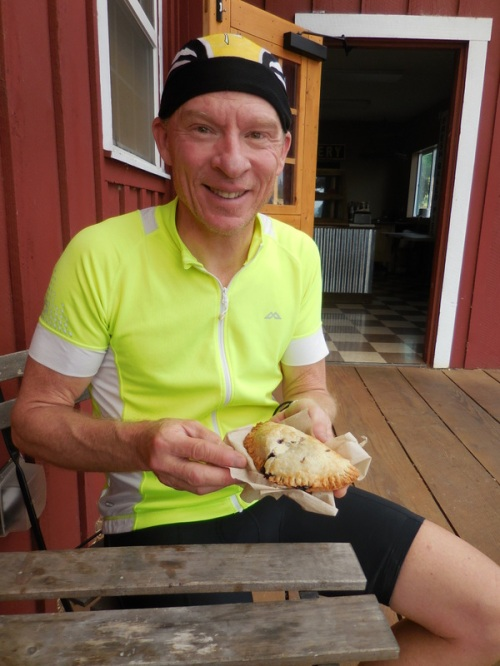 Dave and his Marionberry scone