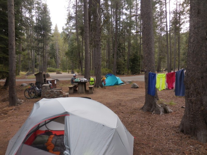 Home for the night - camp
