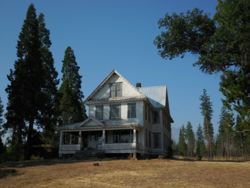 Homestead on Highway 89