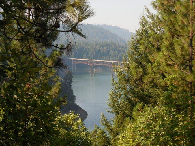 Lost Creek Lake bridge