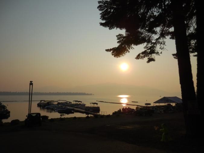Morning at Lake Almador 2