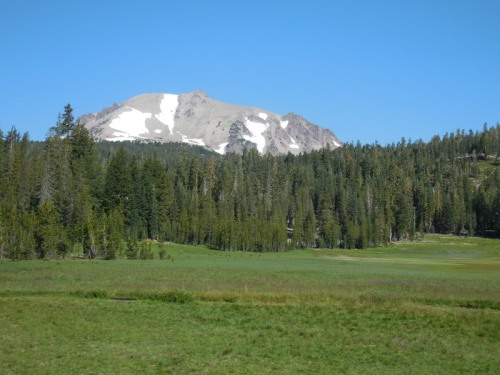 Mt Lassen and King Creek meadow 1