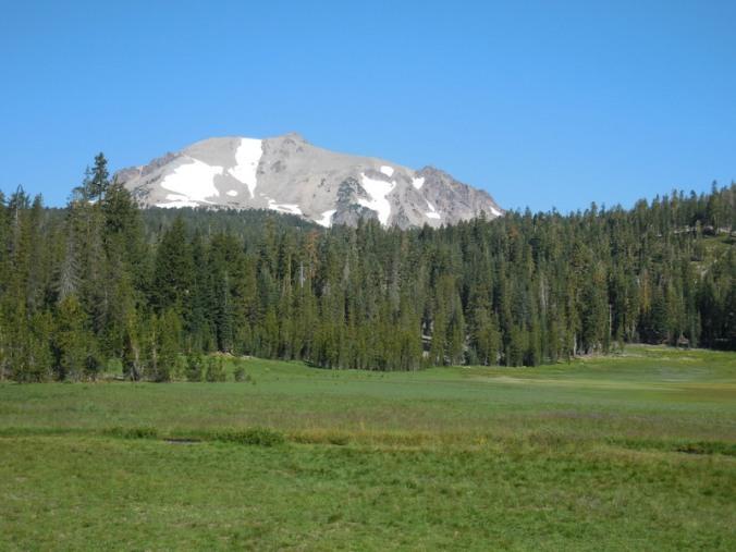 Mt Lassen and King Creek meadow 1