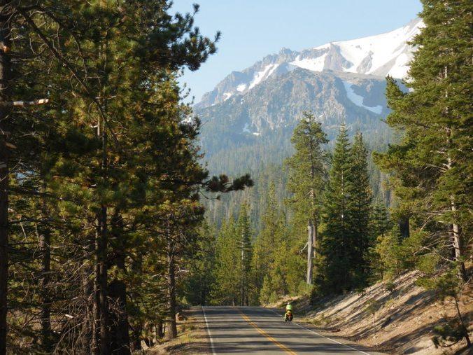 Mt Lassen in the morning 2