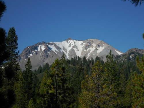 Mt Lassen in the morning 9