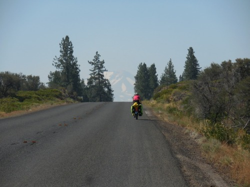 Nancy and Mt Lassen