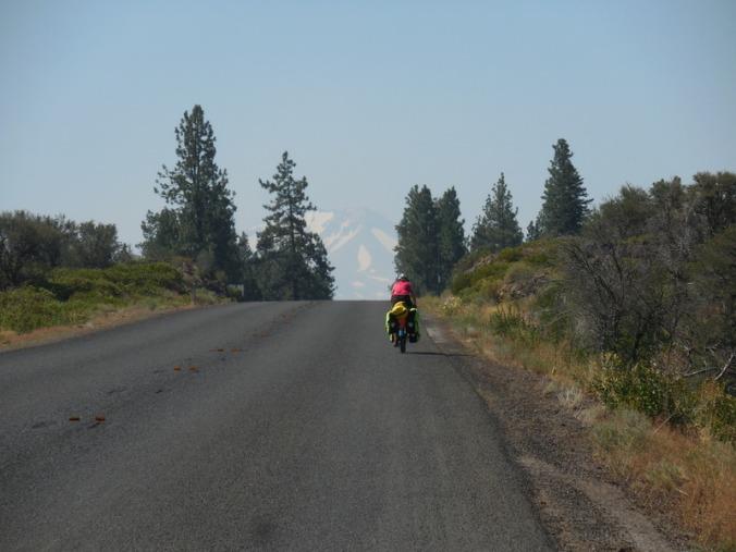 Nancy and Mt Lassen