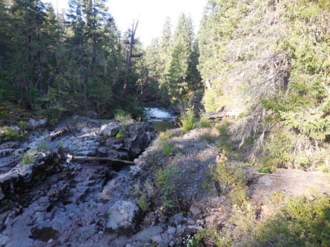 Natural bridge on the Rogue 7