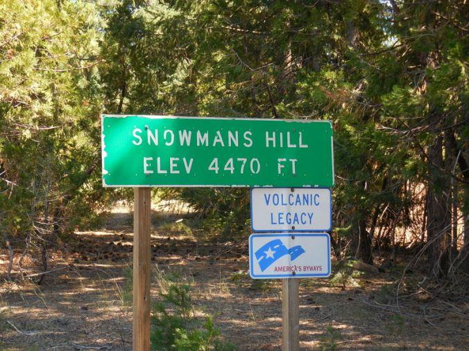 Nice summit sign