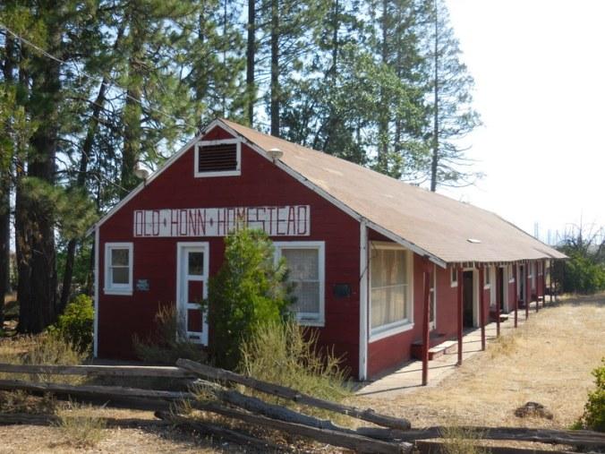 Old homestead on Highway 89