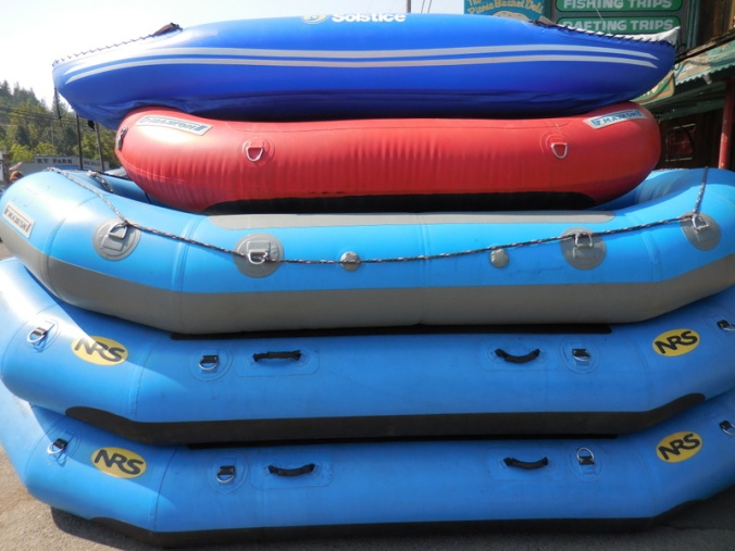 Rafts at the ready