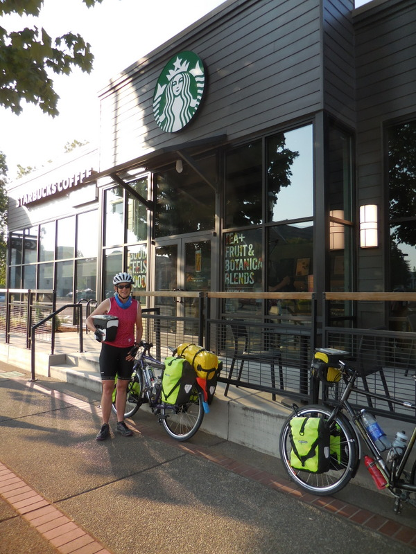 Second brekkie at Starbucks