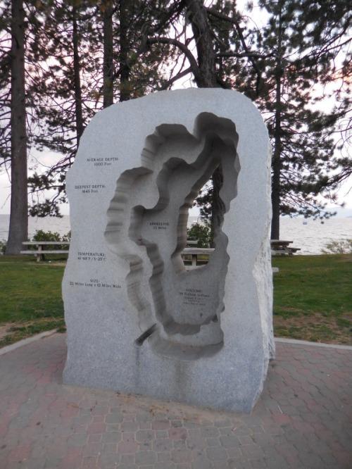 Tahoe sculpture 1