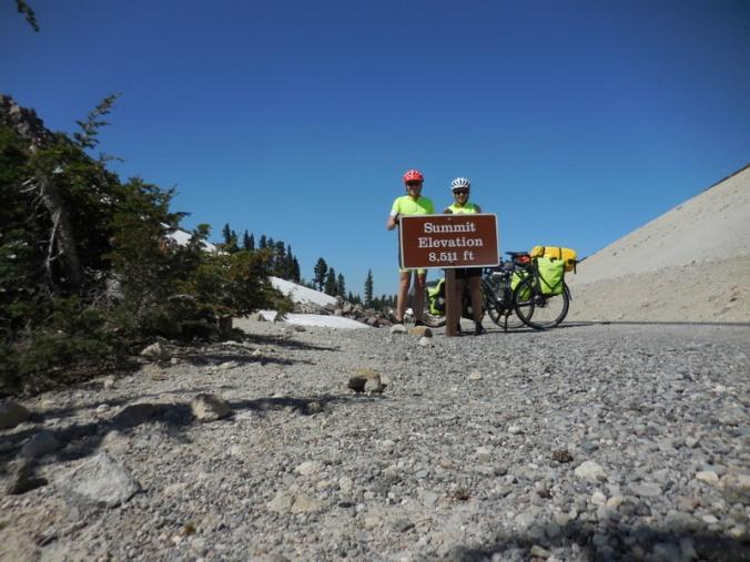 Us at Mt Lassen summit 2