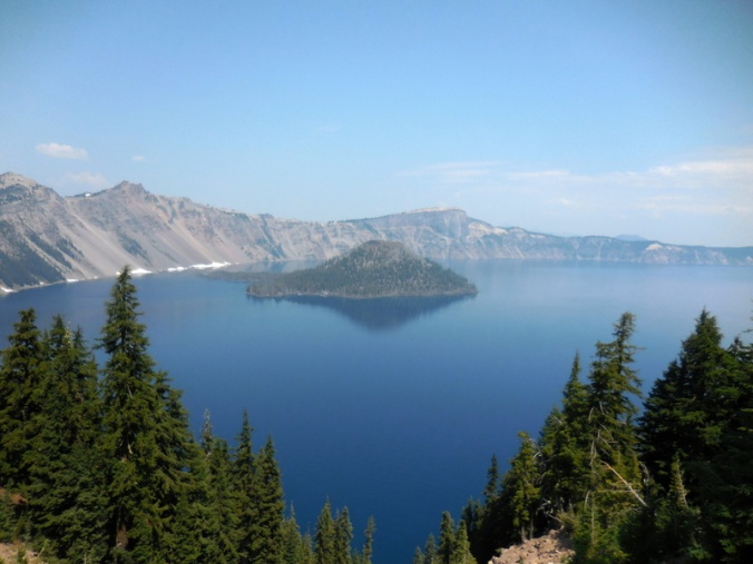 Wizzard Island on Crater Lake 1