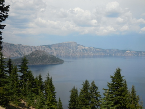 Wizzard Island on Crater Lake 3