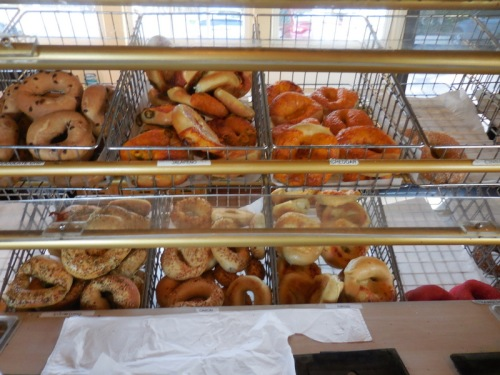 Bagel store treats