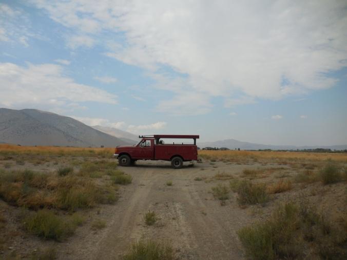 Big Red - farm truck