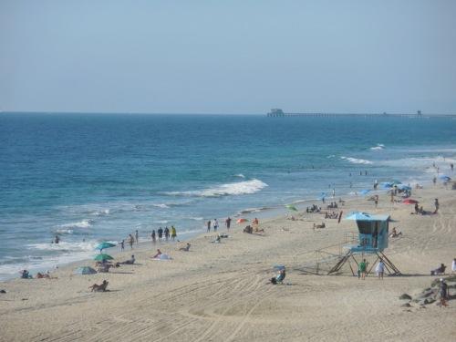 Carlsbad beach scene 2