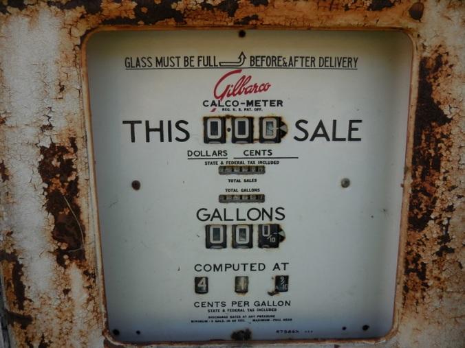 Gas is 41.9 per gallon