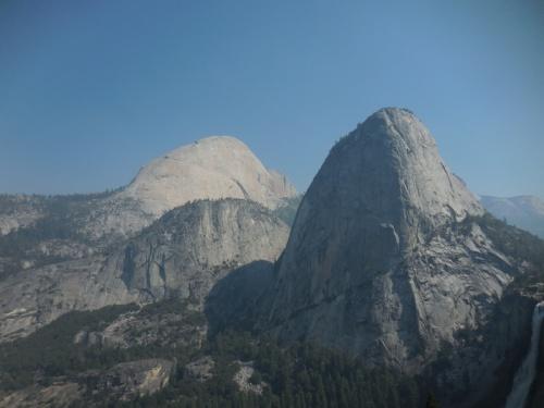 Half Dome and Liberty Peak 1