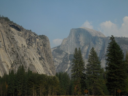 Half Dome - better without smoke 2