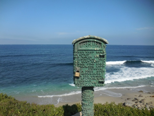 La Jolla Lifeguard box