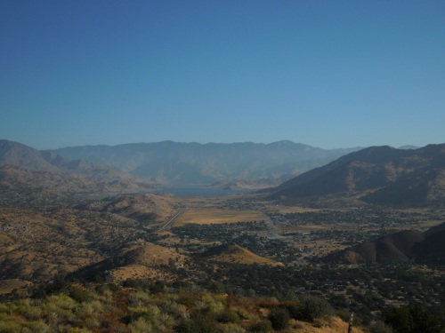 Lake Isabella in the distance