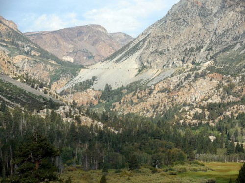 Looking up Tioga Pass 2