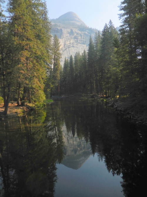 Merced River and North Dome