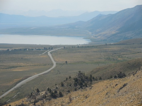 Mono Lake and Highway 395