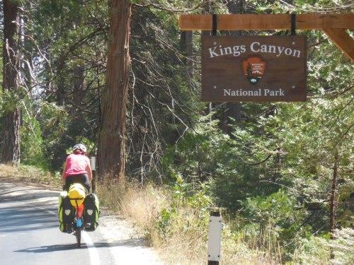 Nancy at Kings Canyon 2