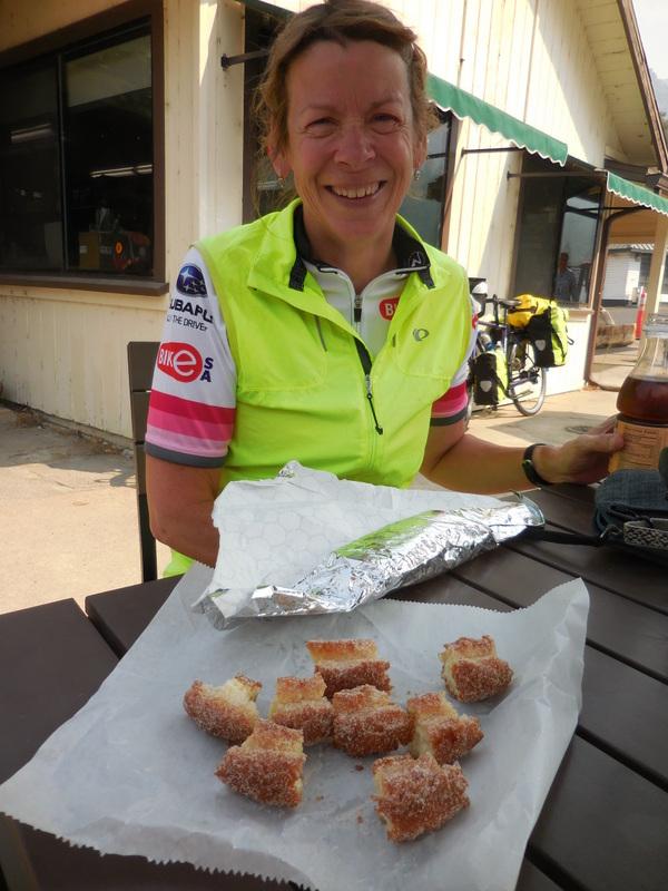Nancy orderly doughnut breaking