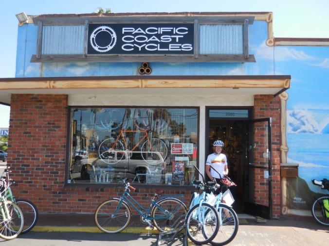 Oceanside bike shop - nice place