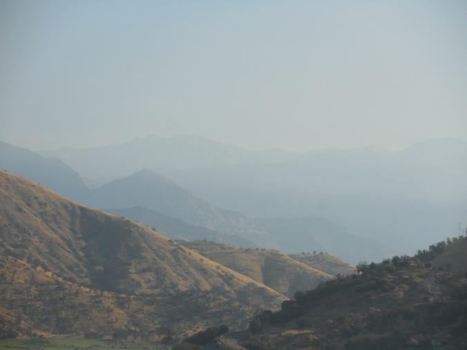 Sequioa NP in the distance