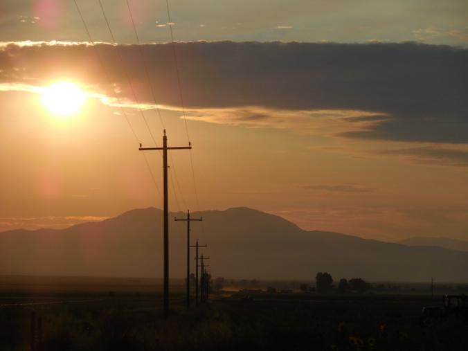 Smith Valley sunrise