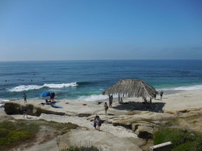 Surf shake on the beach