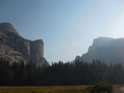 Yosemite Valley view 1