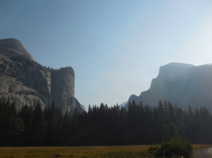 Yosemite Valley view 1