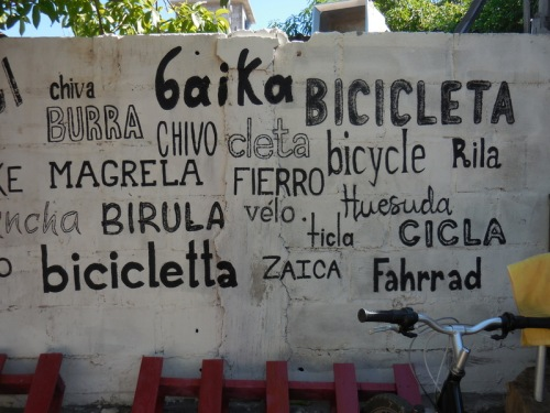 Bike in many languages