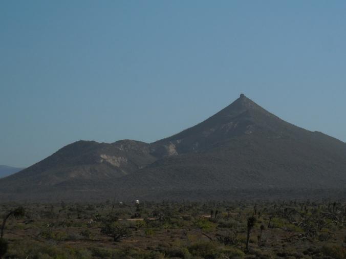 Classic Baja volcano