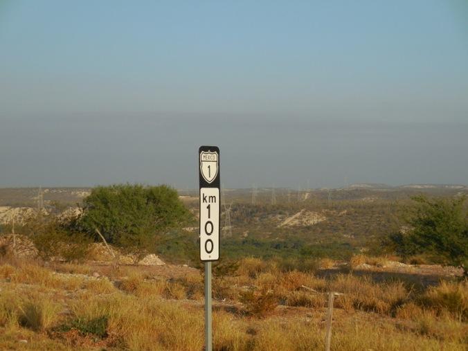 El Cien - 100 kilometer town