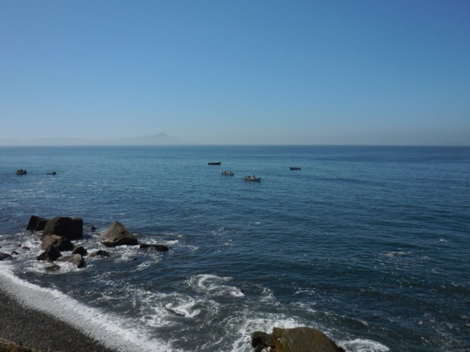 Fishing boats on the Pacific 2