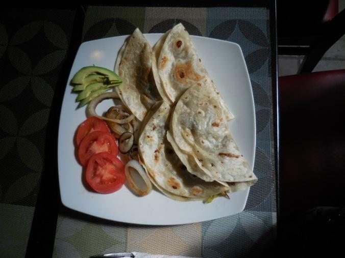 Four tacos for $4USD