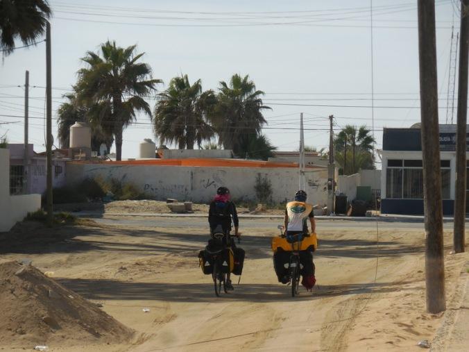Frederik and Seb ride off